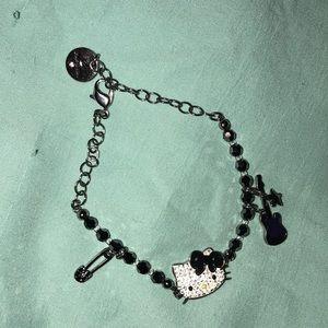 swarovski crystal hello kitty bracelet